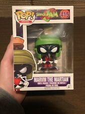 Marvin The Martian! Funko Pop! Looney Tunes Space Jam #415 Vaulted/Retired Rare!