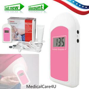 Cardiofrequenzimetro prenatale Baby Sound B Doppler fetale, gel libero, cuffia