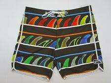 Billabong  Donavon Frankenreiter Collection Swimsuit  Board Shorts Shark fins 38