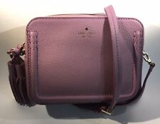 NWT Kate Spade Orchard Street Rum Raisin Arla Crossbody Leather Bag LILAC PINK