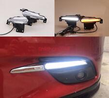 2x LED Driving Daytime Running Day Fog Lamp Light For for Mazda 3 2017
