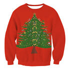Ugly Funny Christmas Xmas Sweatshirt Women Men Couples Sweater Pullover Jumpers.