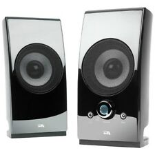 NEW Cyber Acoustics CA-2027 Powered Speaker System 2.0 CA2027