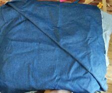 Stretch Blue Jean Material Fabric 58 X 86