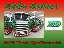 Eddie Stobart Truck Name Fleet Spotting Guide Book Updated for 2019 Steady Eddie