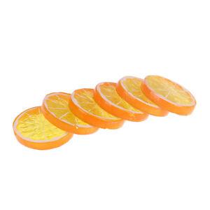6Pcs/Set Artificial Fruit Christmas Decoration Cheap Fake Plants Lemon Sli Yc