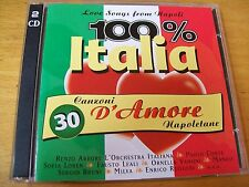 A.V. 100% ITALIA CANZONI D'AMORE NAPOLETANE DCD MILVA MUROLO MARCELLA MINA MANGO