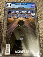 Star Wars: Purge - Seconds to Die CGC 9.8 (LOW POP) (Dark Horse Comics)
