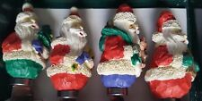 JOLLY SANTA SPREADERS, SET OF 4, BRAND NEW, AMERICAN DESIGN, MADE IN CHINA . . .