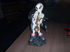 Extremely Rare! Gray Alien Space Rocking Figurine Statue