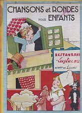 Livre Chansons et rondes pour enfants France de Bardy