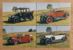 Wolseley Register. Colour multiview postcard.