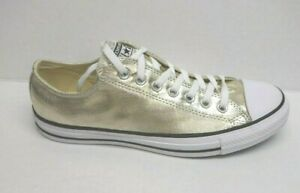 Converse Size 10 Gold Sneakers New Mens Shoes