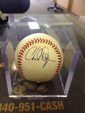 OFFICIAL AMERICAN LEAGUE BASEBALL SIGNED BY CHAD OGEA AND OMAR VIZQUEL