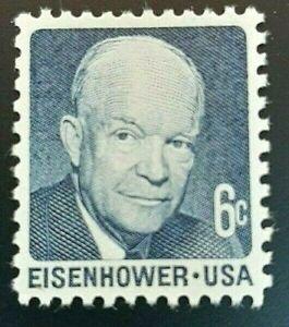 Scott #1393 - 6 Cent Stamp President Dwight D. Eisenhower 1970 MNH