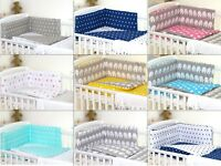 Baby BOY or BABY GIRL Bedding Set fit Cot 120x60 or Cot Bed 140x70 - Multicolors