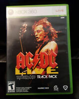 AC/DC LIVE - Rockband Track Pack Xbox-360 2008 by MTV Games FREE Shipping!
