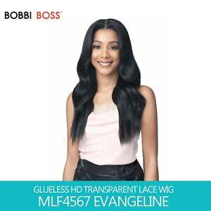 Bobbi Boss GLUELESS HD Transparent Lace Wig - MLF457 EVANGELINE