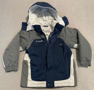Columbia Vertex Ski Snowboard Winter Jacket Blue Youth Size 8
