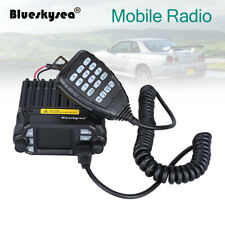 Blueskysea 25W LCD Car Mobile Radio Transceiver UHF Dual Band Walkie Talkie New