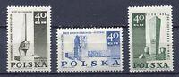 37897) Poland 1967 MNH New Memorials 3v