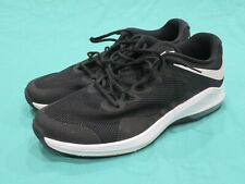 Men's Nike Air Max Alpha Trainer Black & White Running Shoes AA7060-001 Size 13