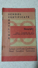 school certificate outline GEOGRAPHY ron l.andrews 1966