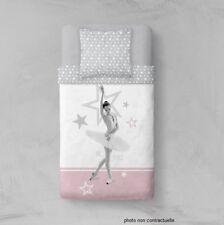 Parure Housse de couette en polyester 140X200 cm Danseuse étoile