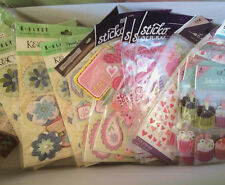 Huge Stickers Lot K and & Company Jolee's Cupcakes Martha Stewart Recollections