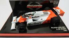 McLaren COLLECTION #32 MP 4 Ford 1981 A. de Cesaris Minichamps 1:43