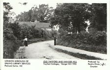 London Postcard - Old Twyford and Hanger Hill - Twyford Cottages 1903   889
