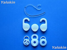 White Fit Kit for Jabra Extreme 2 Headset Replacement Earhook Eartips