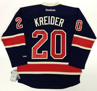 CHRIS KREIDER NEW YORK RANGERS REEBOK PREMIER THIRD JERSEY