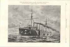 1898 First-class Cruiser Argonaut Fairfield Shipbuilding