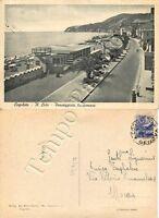 Cartolina di Cogoleto, lungomare - Genova, 1949