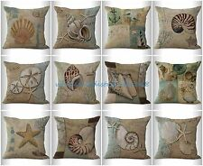 10pcs sofa pillow cases wholesale cushion covers sea life beach coastal nautical