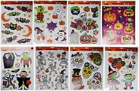 DOLGENCORP* Reusable WINDOW CLINGS Decoration HALLOWEEN Decor *YOU CHOOSE* New!