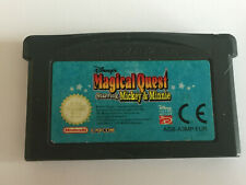 Magical Quest Starring Mickey & Minnie Nintendo Gameboy Advance Game Cartridge