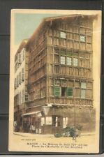 France. Macon- La Maison De Bois, Place De L'Herberie Et Rue Dombey. vintage PC