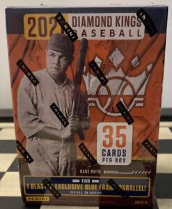 2021 Panini Diamond Kings Baseball Blaster Box New Sealed Blue Frame Parallel