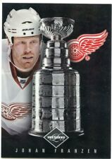 11/12 PANINI LIMITED STANLEY CUP WINNER JOHAN FRANZEN 019/199 RED WINGS *47179