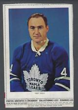 1963-64 Chex Toronto Maple Leafs Hockey Photos Red Kelly (Complete Dotted Line)