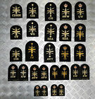Genuine Royal Navy Embroidered Warfare Branch Qualification Badges Various Types