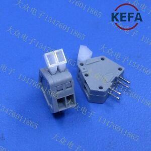 4PCS KF240-2.54 2P spring PCB terminal 2.54MM