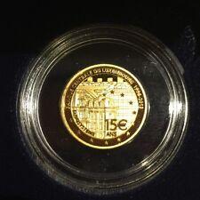 15 Euro Luxemburg 2013 1/5 Unze 999er Gold 15 Jahre BCL nur 2000 Auflage
