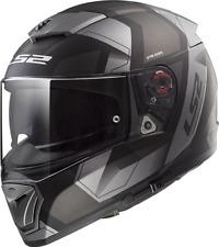 Ls2 casco moto Integrale Ff390 Breaker Physics Matt negro Titano 3XL