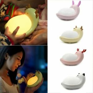 Colorful Fairy Night Light RGB Lamp Home Childrens Bedroom rechargeable Light
