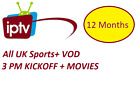 IPTV 12 MONTHS HD SUBSCRIPTION (Smart TV, MAG, Zgemma,M3U,Android boxes)