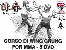 WING CHUNG FOR MMA - 5 DVD - Self Defence - Fighting - Wing Tsun - Dummy