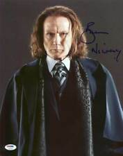 Bill Nighy Pirates Of The Caribbean Signed Authentic 11X14 Photo PSA/DNA #Y99094